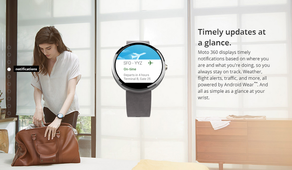 notification for moto 360