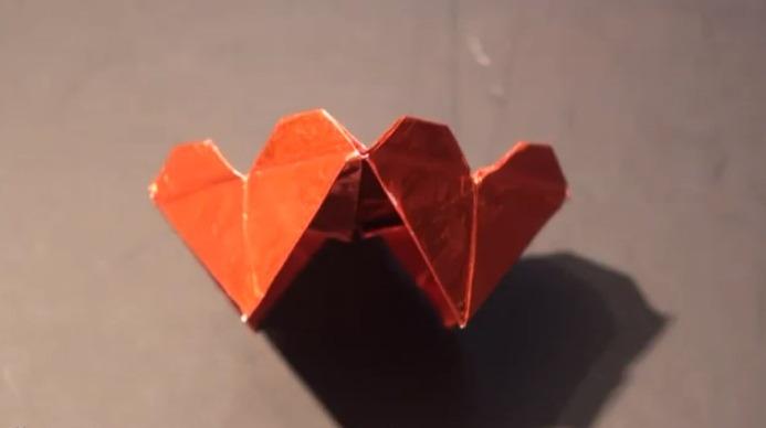 발렌타인 하트 테이블 (Suhas) 종이접기 동영상