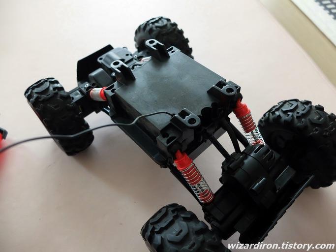 장난감 RC카 락몬스터에 헤드라이트 LED를 달아보자5