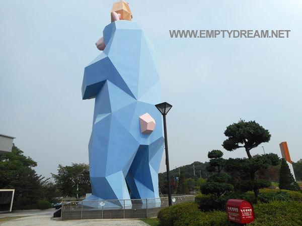 인천 영종대교 휴게소 - 소원성취곰, 전망대