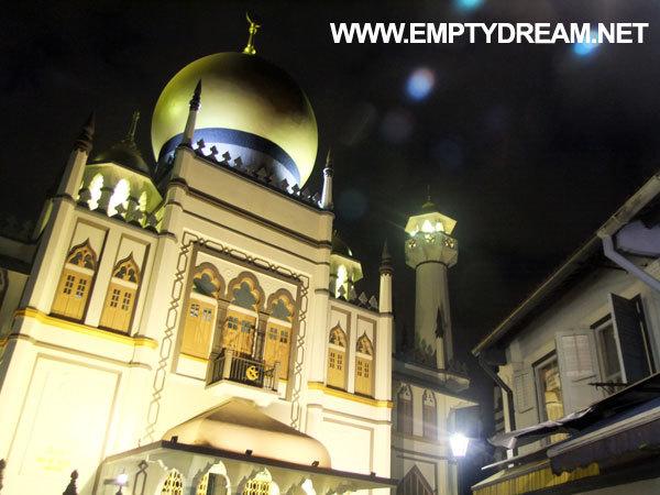 싱가포르 여행 - 하지레인, 술탄 모스크