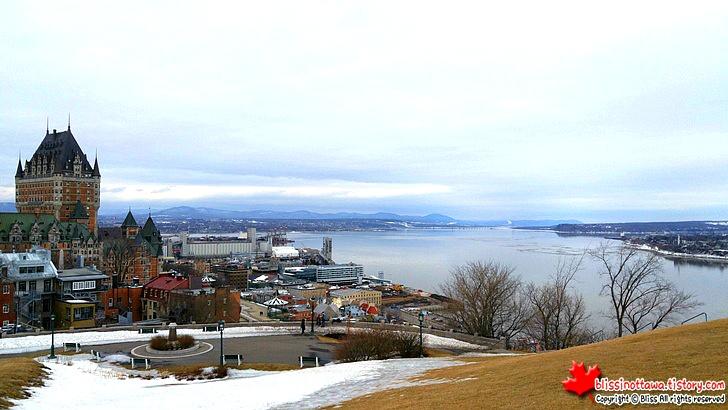 캐나다 동부여행 퀘벡시티 세인트로렌스 강