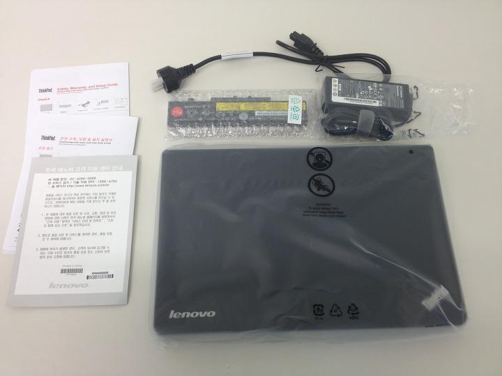 ThinkPad Edge E530 구성품