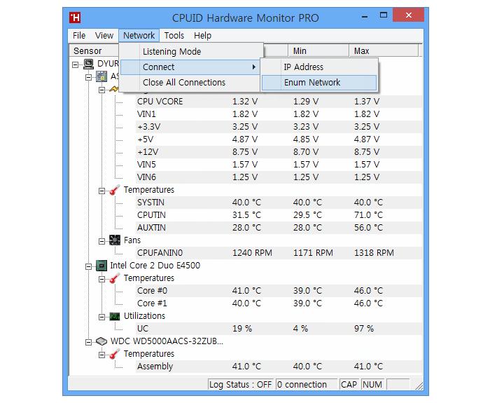 CPUID HWMonitor Pro와 Free 버전의 차이점 :: 듀륏체리의 하드웨어 섹터