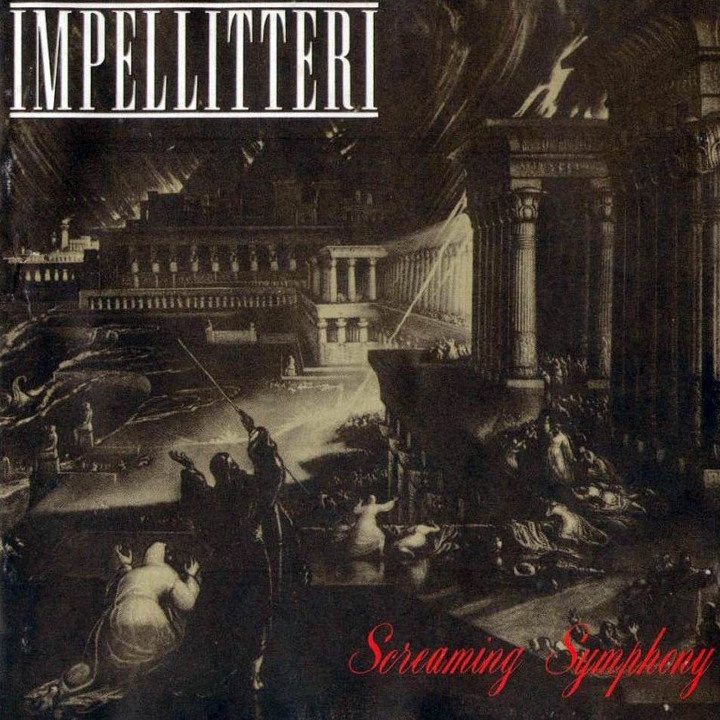Impellitteri - Screaming Symphony Front Cover