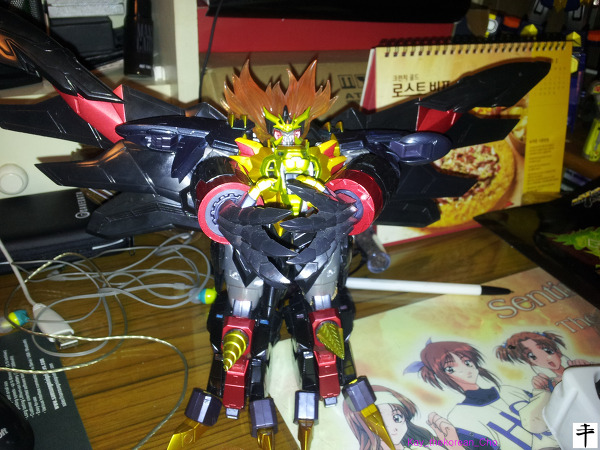Max Alloy Genesic gaogaigar-Hell and heaven-Gadget Hand ver