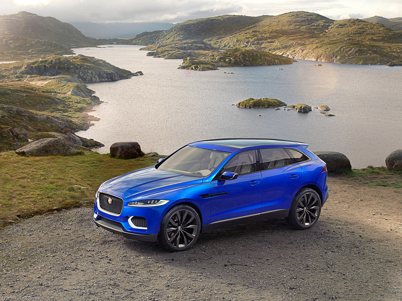 재규어의 선전포고 - 2013 Jaguar C-X17 Sports Crossover concept