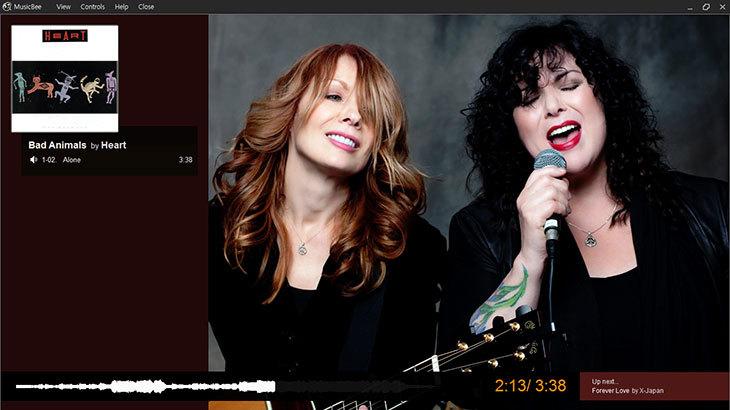 MusicBee 메인 화면-12