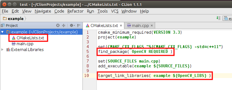 Clion Tutorial
