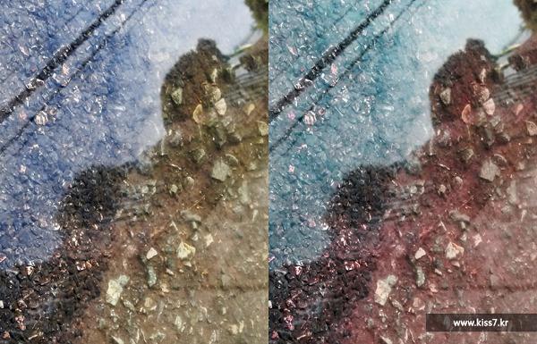 사진: 원본 사진 촬영 후 화이트밸런스 기능을 골라서 다시 촬영하면 사진촬영이 재미있어 진다. 창의적으로 화이트밸런스를 적용시켜 보자. [화이트밸러스란 것의 수동 세팅]