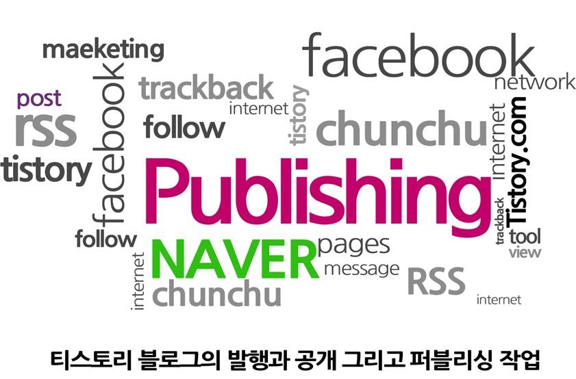 티스토리 블로그의 발행과 공개 그리고 퍼블리싱 작업 성공적인 블로그 만드는 방법[4]