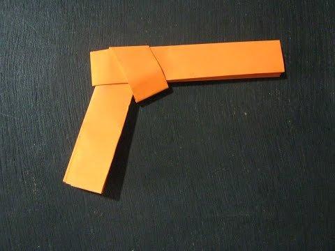 종이 총 콜트건 (A Paper Gun Colt) 종이접기 동영상