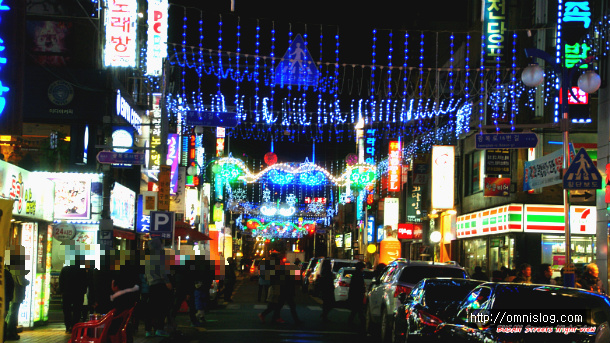 Night view in BUSAN Street-부산의 밤거리