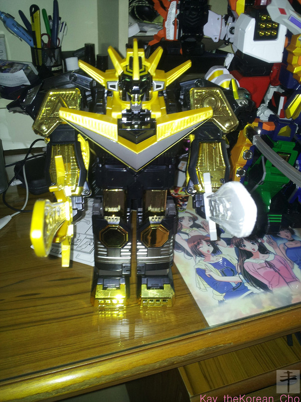 DX charged galaxy megazord-double sword-Black Edition