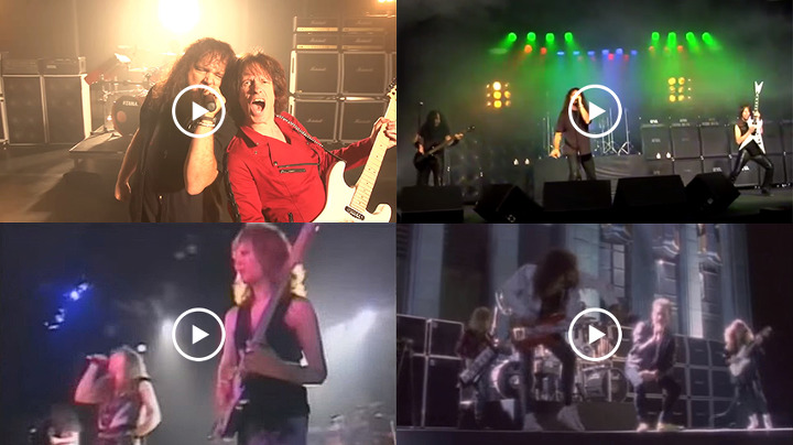 임펠리테리 공식 뮤직 비디오 - Impellitteri Official Music Videos