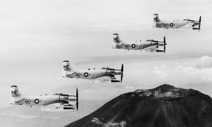 프로펠러 전폭기의 마지막을 화려하게 장식한 A-1 스카이레이더6