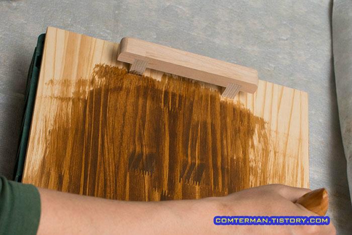 Deft 우드 스테인 미디엄 오크 Wood Stain Medium Oak