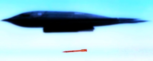 B2에서 투하하는 핵폭탄 B61-12