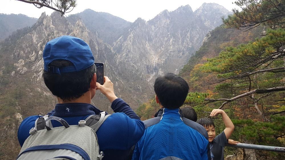 [속초 여행]국립공원 100경 설악산 토왕성폭포전망대