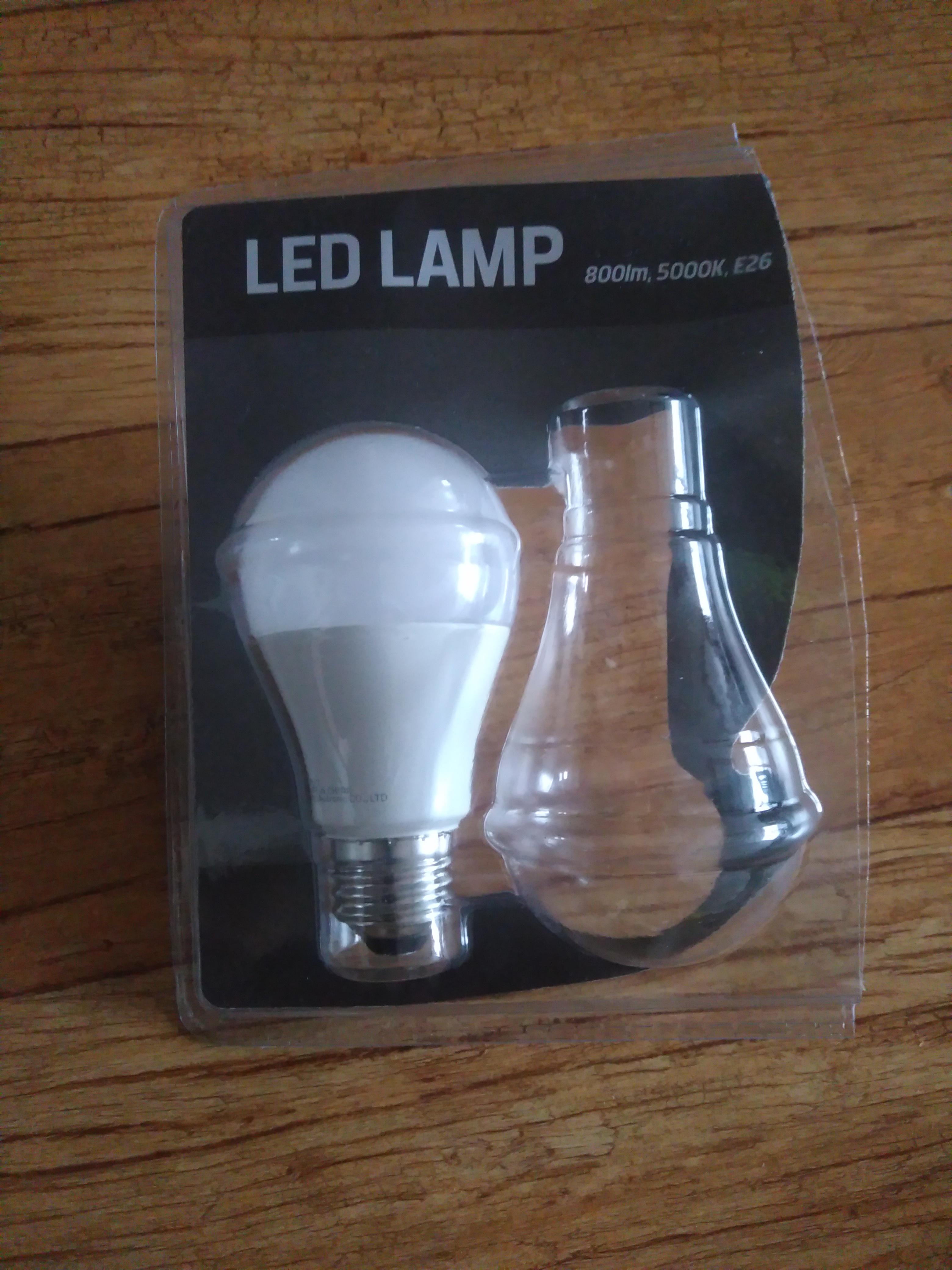 LED 램프 800lm 5000K