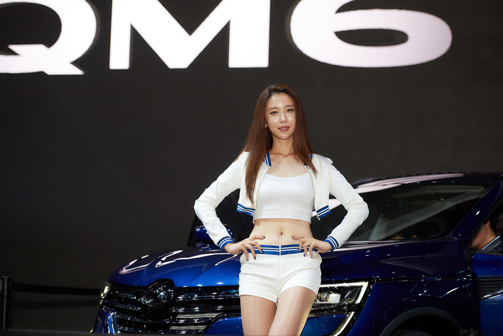 Renault Samsung Model - 한은지