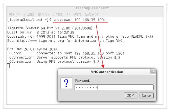 Linux 세상속으로 :: VNC 서버구축(Fedora 19)