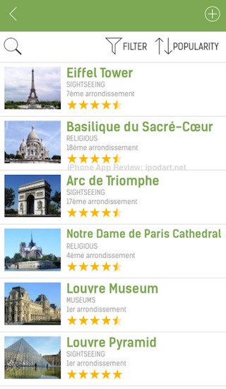 Paris Travel Guide (with Offline Maps) - mTrip 오프라인 지도 여행 일정 아이폰