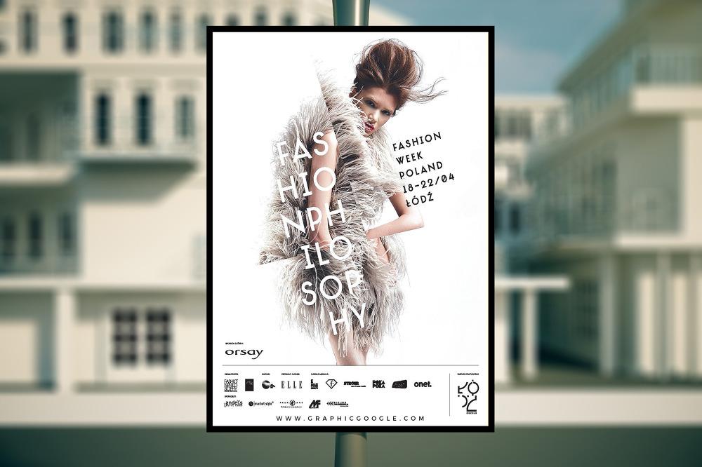 무료 포스터 길거리 광고판 목업 PSD - Free Outdoor Advertising Poster Mockup PSD