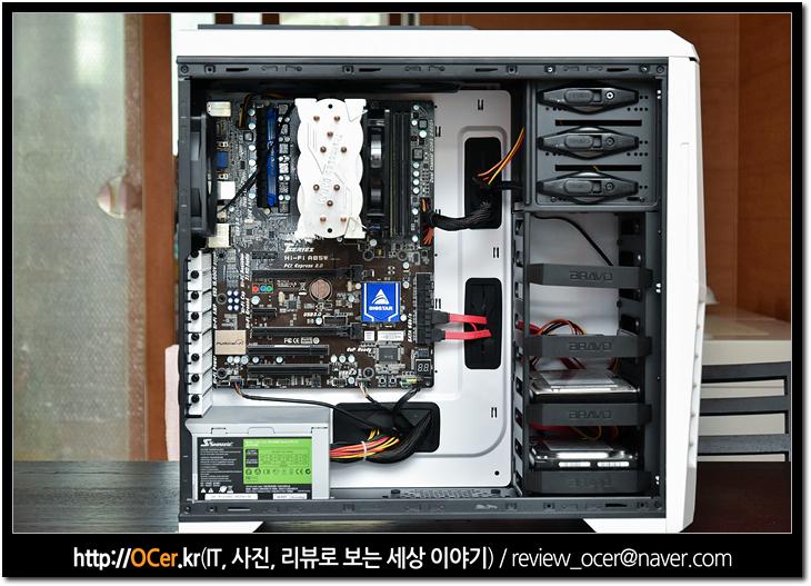 컴퓨터케이스, 컴퓨터 조립, pc 조립, it, 리뷰, 이슈, 브라보텍, bravotec, BRAVOTEC 스텔스 DX 화이트 파노라마 윈도우, 튜닝, pc튜닝, 컴퓨터 케이스 추천