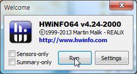HWiNFO-내컴퓨터 사양보기(CPU온도,GPU온도)