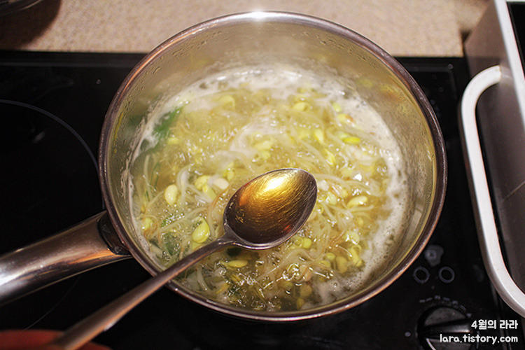 콩나물국끓이는법