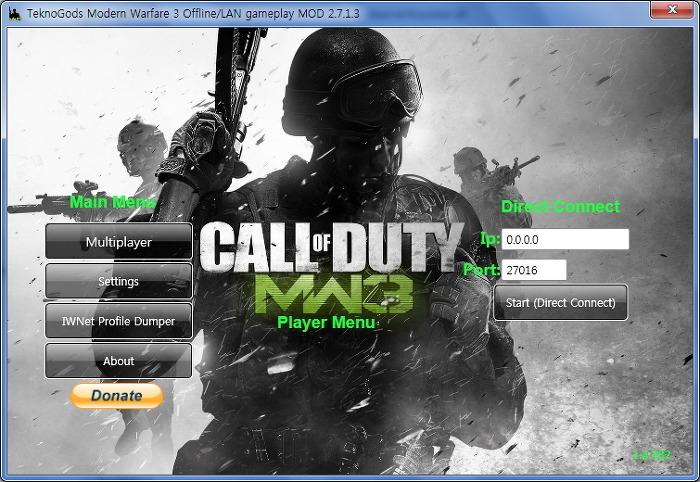 Modern Warfare3 모던 워페어3 멀티플레이 / 테크노갓 업데이트