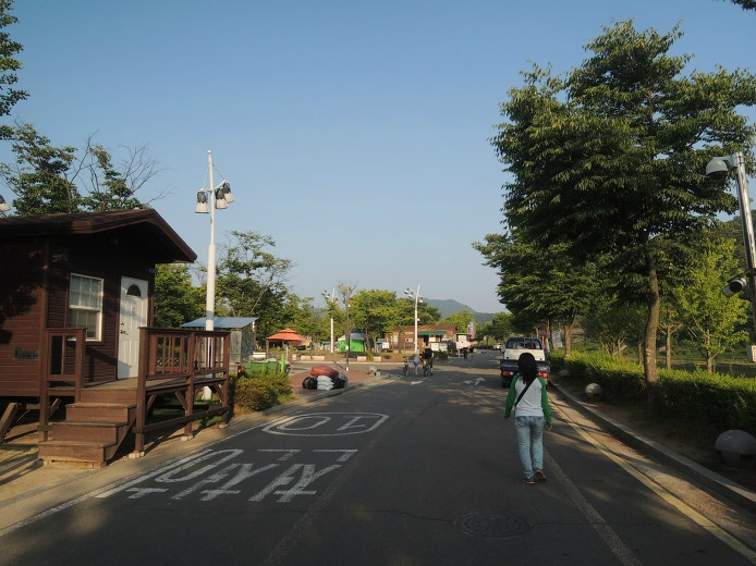 연천 한탄강 관광지 오토캠핑장