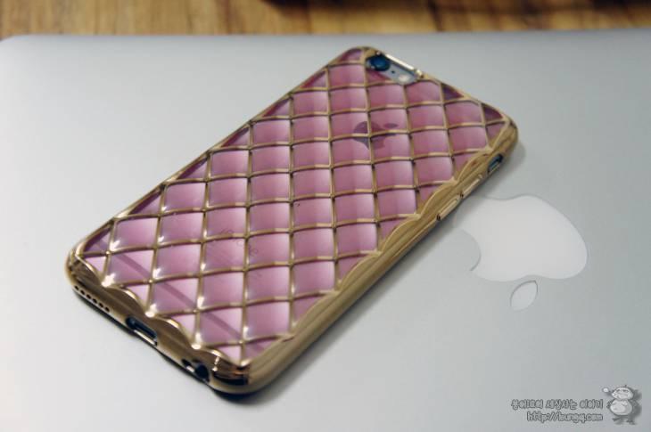 독특한, 아이폰6s, 케이스, 로즈골드, tpu, 쿠션케이스, 프라즘라스