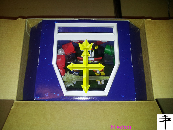 Mattel Voltron-SDCC Edition-inner box top