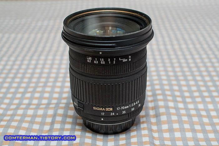시그마 17-70mm 매크로 렌즈 SIGMA 17-70mm F2.8-4.5 DC Macro