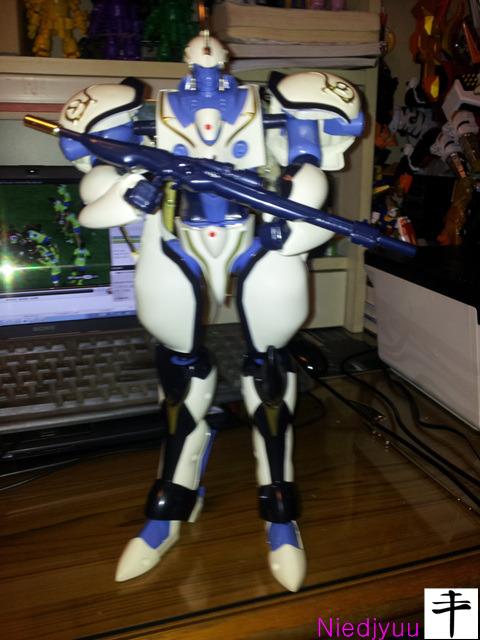 영혼기병 라젠카-DX 가이런-빔라이플 무장