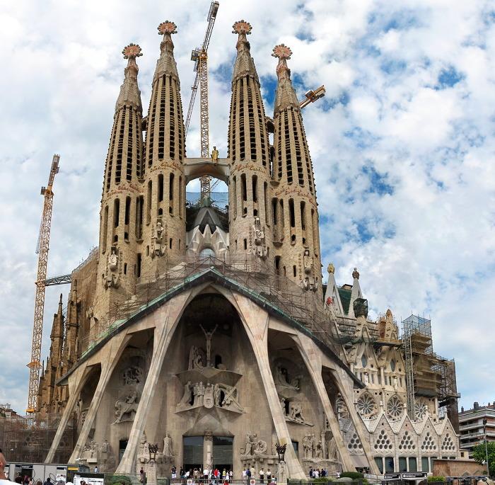 사그라다 파밀리아 성당 Sagrada Familia 외부