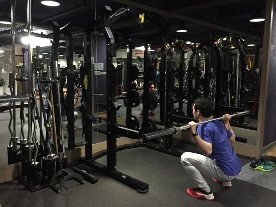 백스쿼트(back squat)