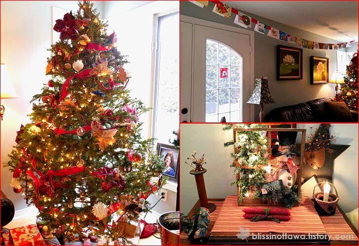 크리스마스 홈 인테리어 입니다.