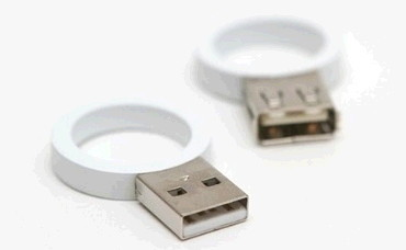 특이한 커플링, USB