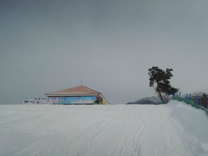 남원 지리산 바래봉 눈꽃축제