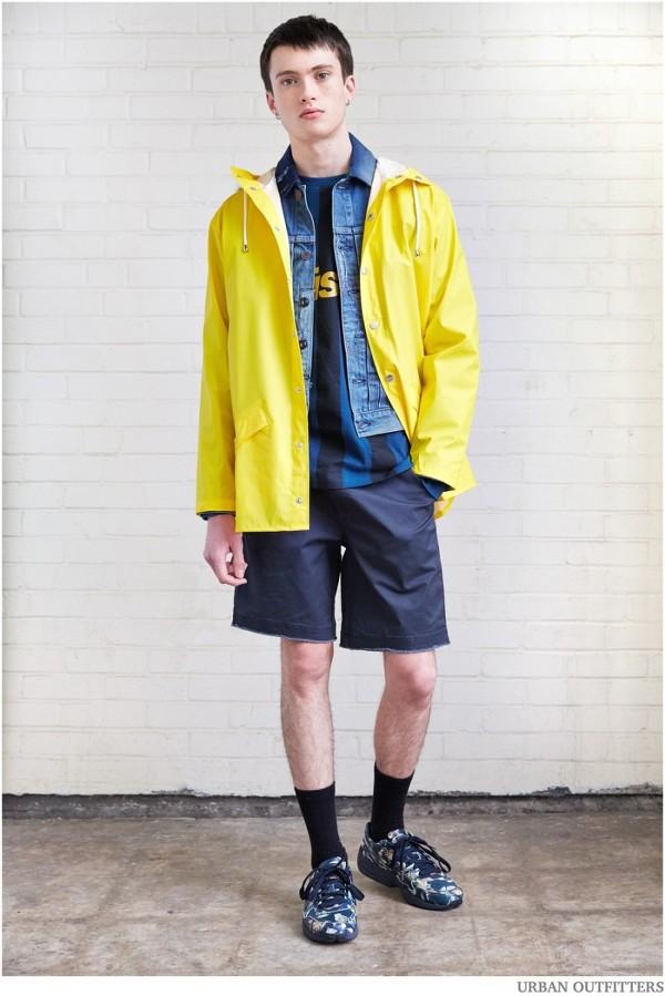 90년대 패션에서 모티브를 얻은 2015 s/s Urban outfitters 남자룩북