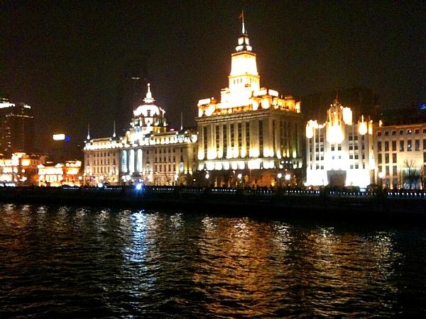 상하이 황포강 야경2