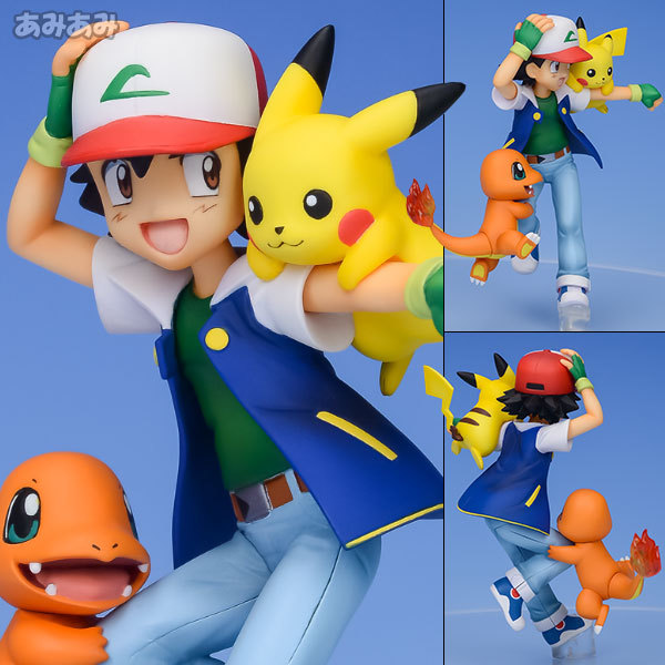 Pokemon Ash, Pikachu Figure