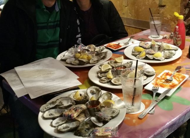 4 dozens of oyster