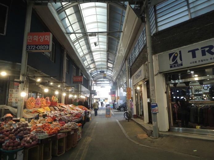 오산 명소 오색시장 중앙시장