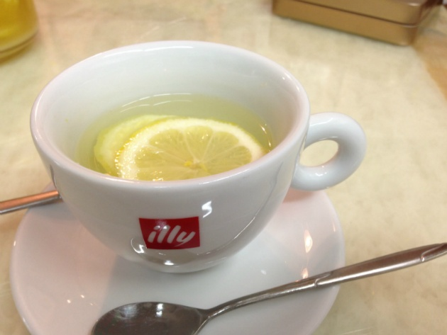 how to make lemon tea recipe
