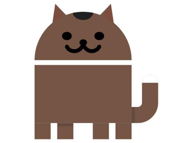 안드로이드 7.0 누가의 이스터 에그는 고양이 모으기