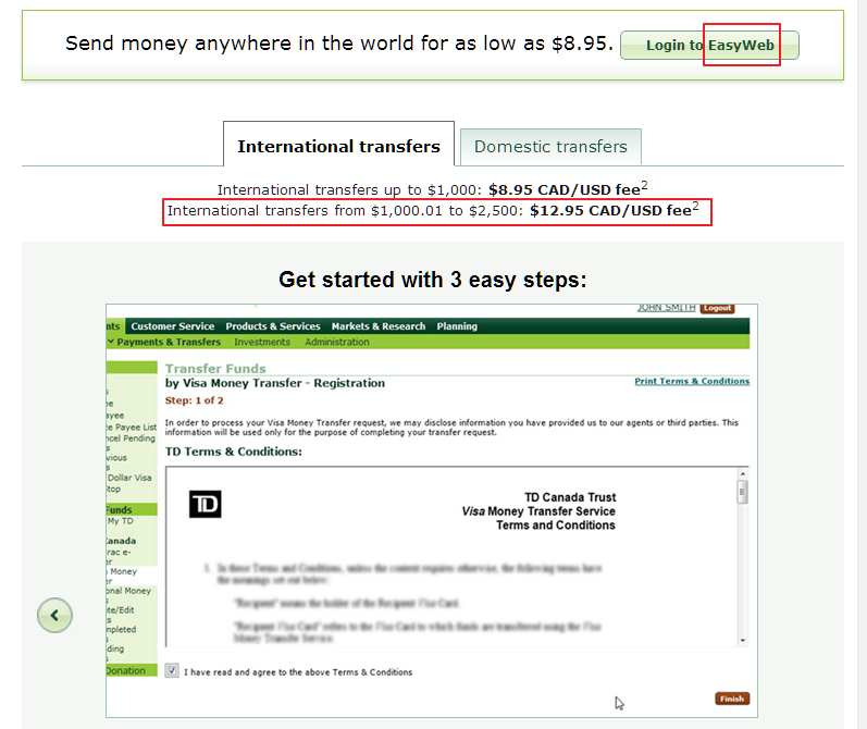 Td Bank Routing Number Canada